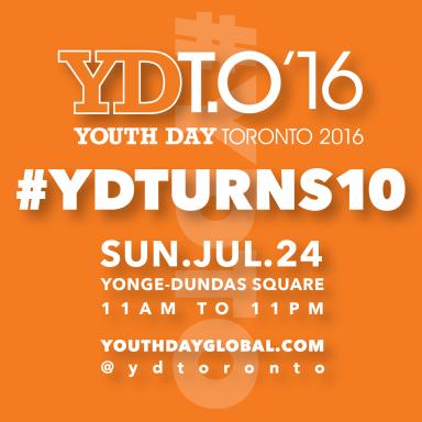YOUTH DAY Toronto Turns 10
